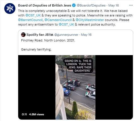 London antisemitism