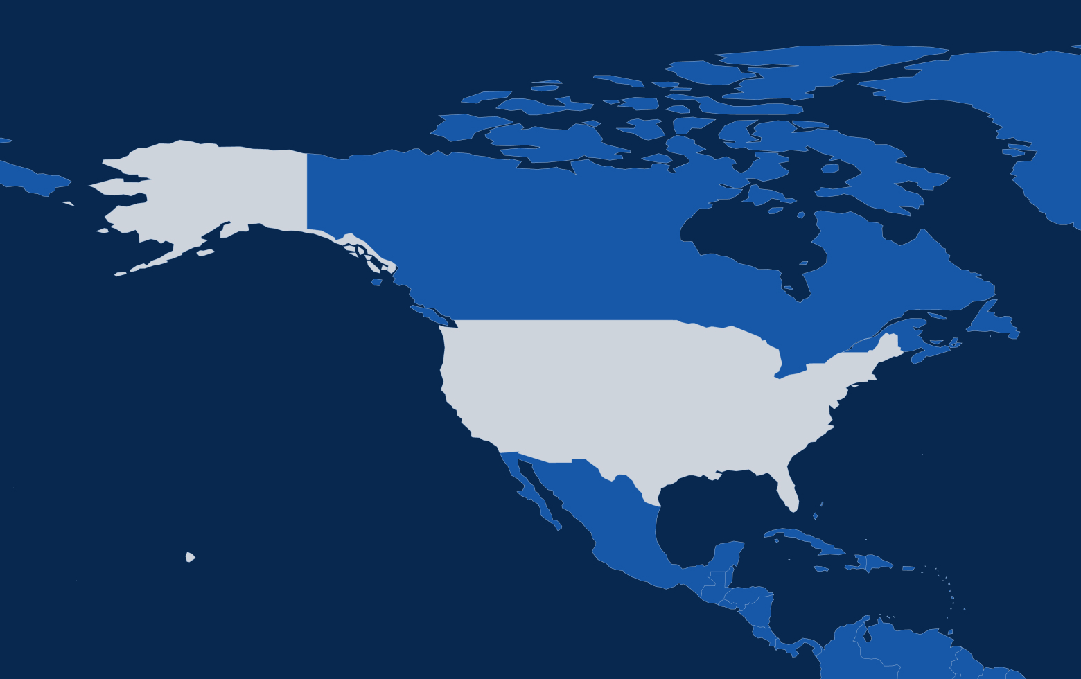 Map 10 united states