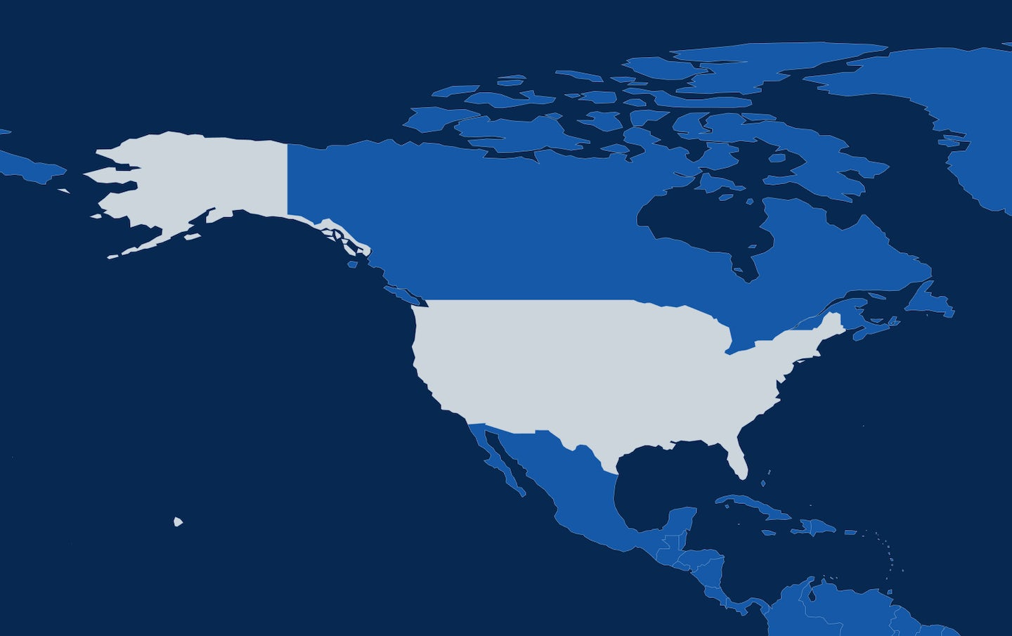 Map 10 united states