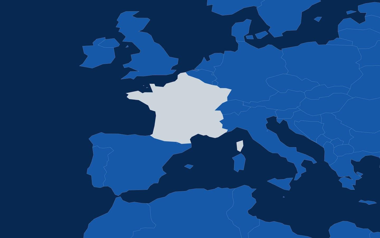Map 06 france