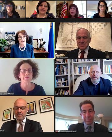 With Israel under attack, Jewish parliamentarians from across globe convene to discuss shared legislative strategies to combat antisemitism