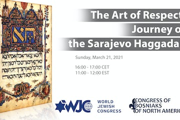 WJC explores journey of the Sarajevo Haggadah in virtual event
