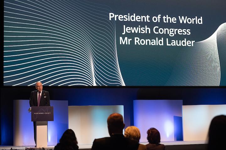 World Jewish Congress to escalate battle against antisemitism, Amb. Lauder says following Malmö Forum