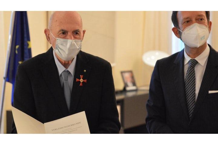Holocaust Survivor Sami Modiano awarded with Order of Merit