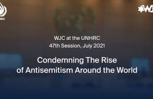 Promoting human rights and fighting antisemitism across the world