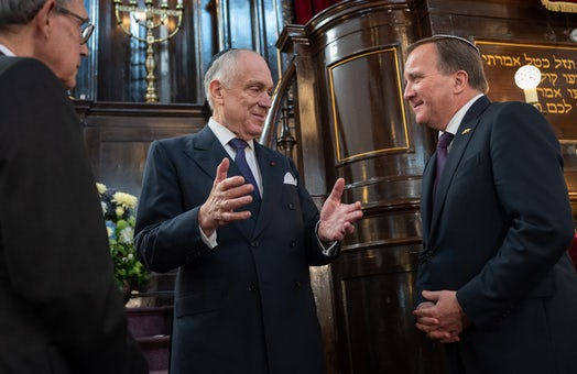 WJC President Ronald S. Lauder addresses top Jewish and Swedish leaders ahead of Malmo Conference