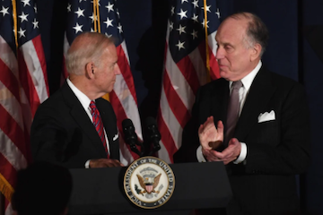 WJC President Ronald S. Lauder congratulates President Biden and Vice President Harris on inauguration