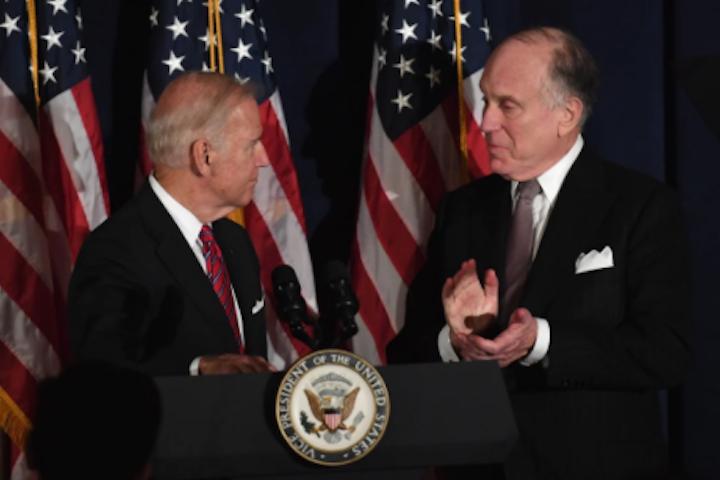 WJC President Ronald S. Lauder congratulates President Biden and Vice President Harris on inauguration