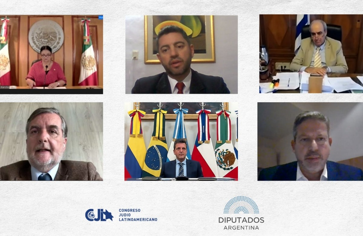 Latin American Jewish Congress, Argentine officials  endorse formal pledge to eradicate terrorism