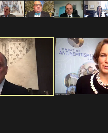 Special Envoys and Coordinators Combating Antisemitism discuss shared strategies to combat hate