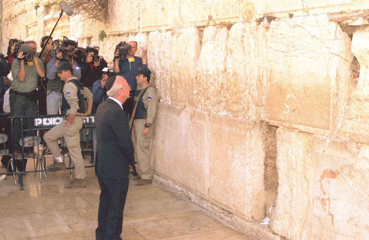 This week in Jewish history   Israeli Prime Minister and Nobel Prize laureate Yitzhak Rabin born