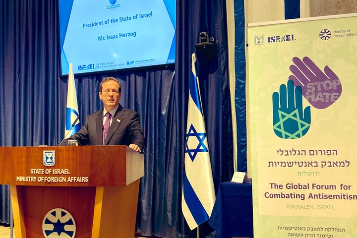 President Herzog calls on global Jewry to undermine Durban 'conference of hate'