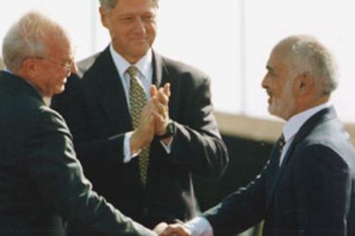 This week in Jewish history |  Israel and Jordan sign peace treaty
