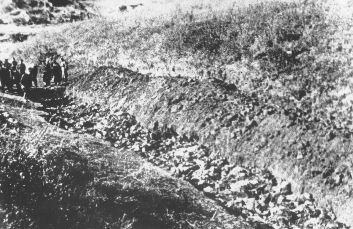This week in Jewish history   Over 30,000 Jews massacred in Babi Yar