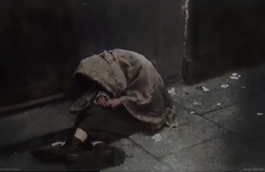 Colorizing photos from the Holocaust