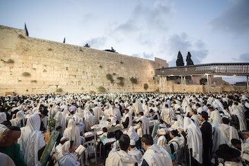 World Jewish Congress President Ronald S. Lauder dismayed by disruption of Tisha b'Av services by Jewish extremists