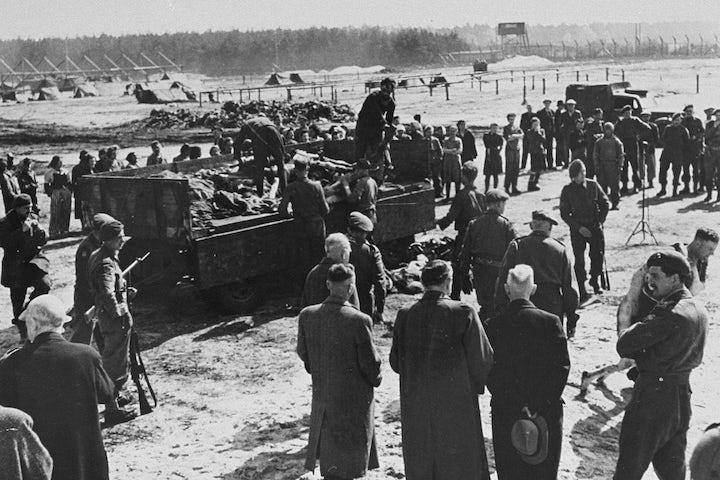 Bergen-Belsen, 76 years later