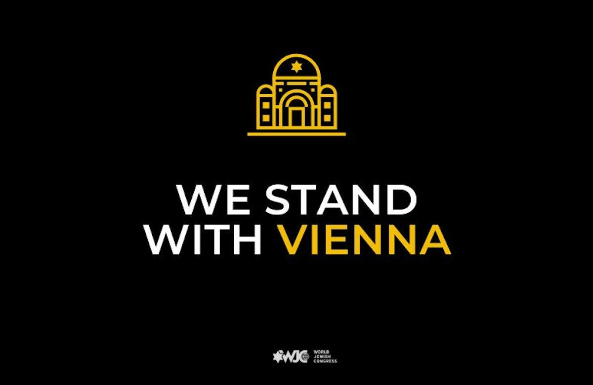 World Jewish Congress dismayed by terror attack in Austria