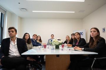 WJC welcomes third cohort of Ronald S. Lauder Fellows