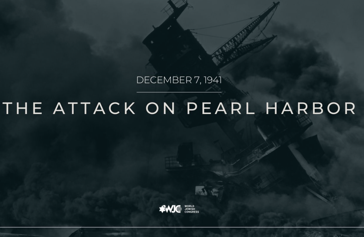 This week in Jewish history | Japan attacks Pearl Harbor, leading U.S. to enter WWII