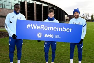 Chelsea to mark Holocaust Remembrance Day with matchday tribute