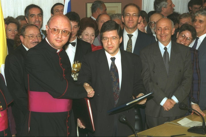This week in Jewish history   Israel and the Vatican establish diplomatic relations