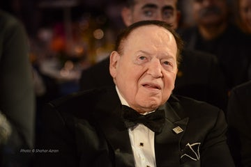 "World Jewish Congress mourns the passing of Sheldon Adelson, ז""ל"