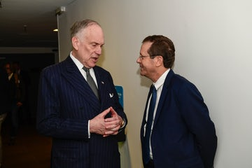World Jewish Congress President Ronald S. Lauder congratulates Isaac Herzog as being elected President of the State of Israel