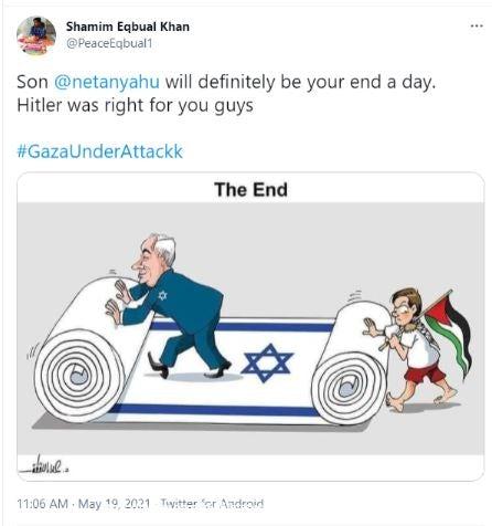 Bibi antisemitism