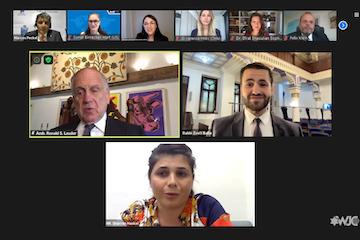 WJC Jewish Diplomatic Corps, luminaries celebrate virtual Rosh Hashanah Seder