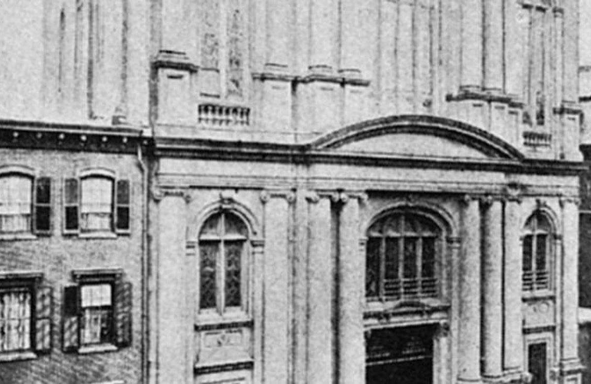 This week in Jewish history | America's First Synagogue Consecrated in New York