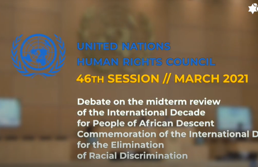 WJC @ UNHRC 46: Debate on midterm review of the International Decade for People of African Descent