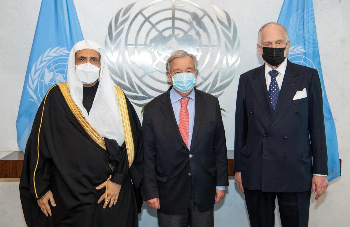 Leaders of World Jewish Congress, Muslim World League relay vision, concerns to UN Secretary-General António Guterres