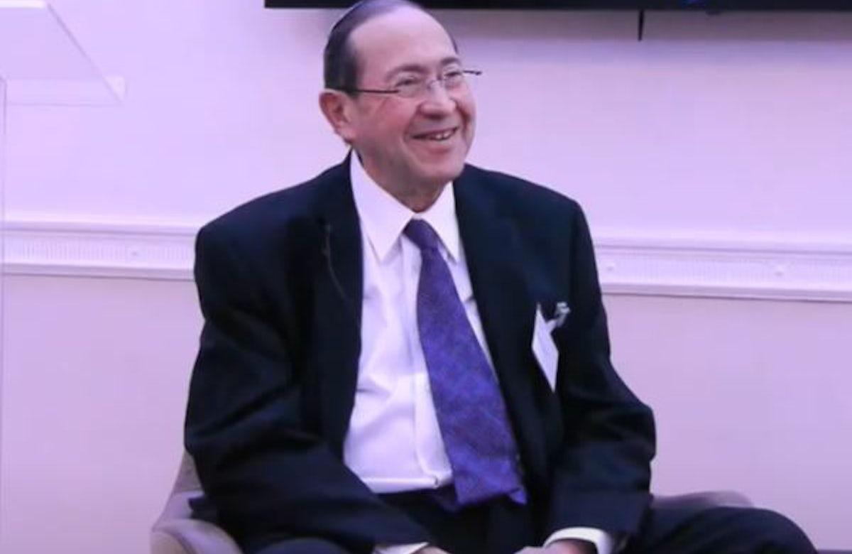 WJC mourns passing of former Board of Deputies of British Jews President Eldred Tabachnik