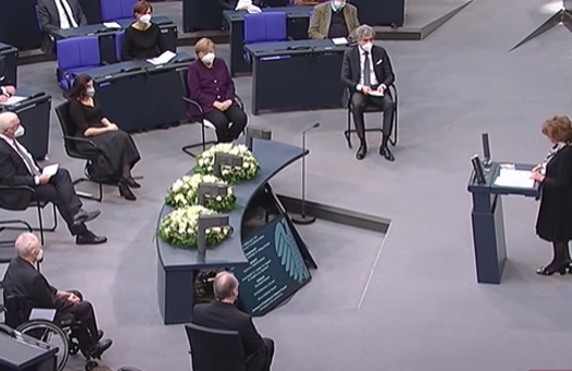 WJC Commissioner for Holocaust Memory addresses German Bundestag