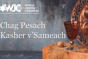 WJC President wishes Jews around  the world a happy Passover