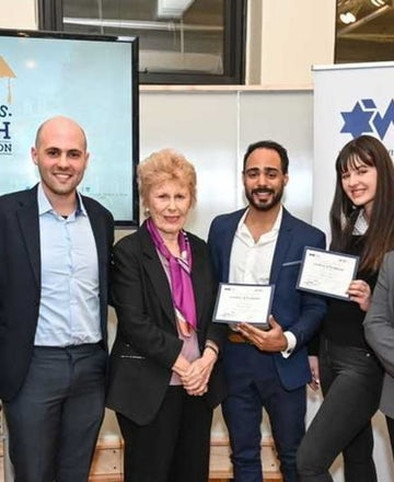 Campus Pitch winners to use $5,000 WJC grant to bring Israeli and US military vets together