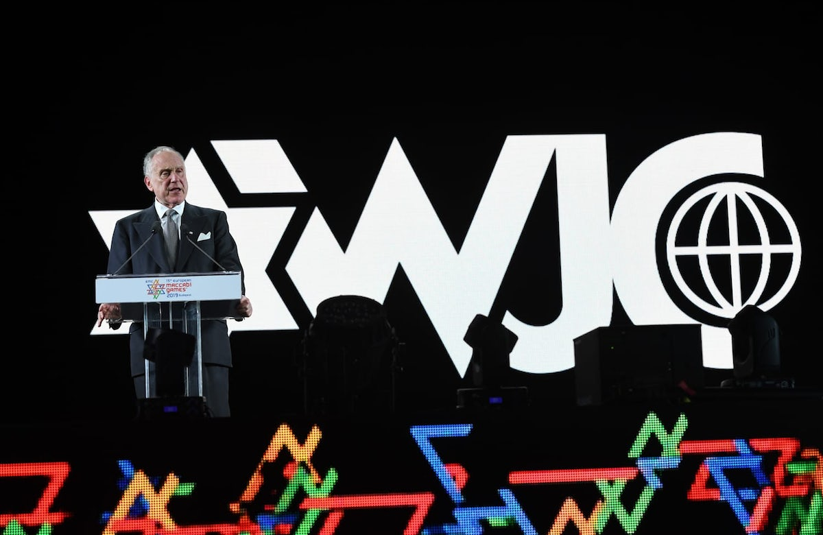 "WJC President Ronald S. Lauder at opening of 15th European Maccabi Games: ""This is not another sporting event – this is the future of the Jewish people"""