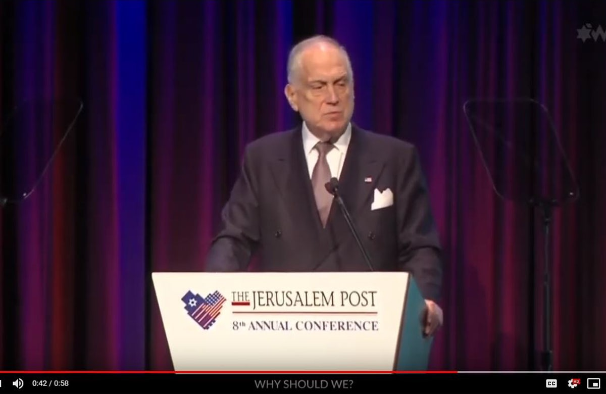 WJC President Ronald S. Lauder: We are one people, and we should start acting like it