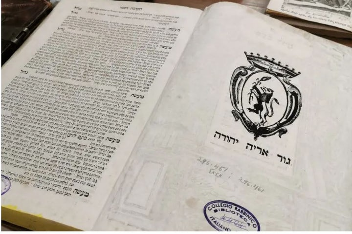 Italian Jews launch crowdfunding campaign to save centuries-old books