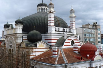 Central Synagogue in Bulgaria's capital Sofia celebrating 110 years since inauguration