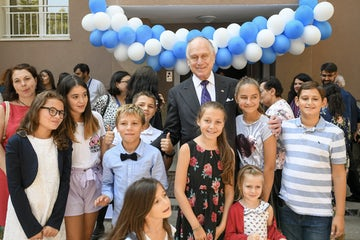 WJC President Ronald S. Lauder inaugurates Bulgaria's first Jewish school in decades
