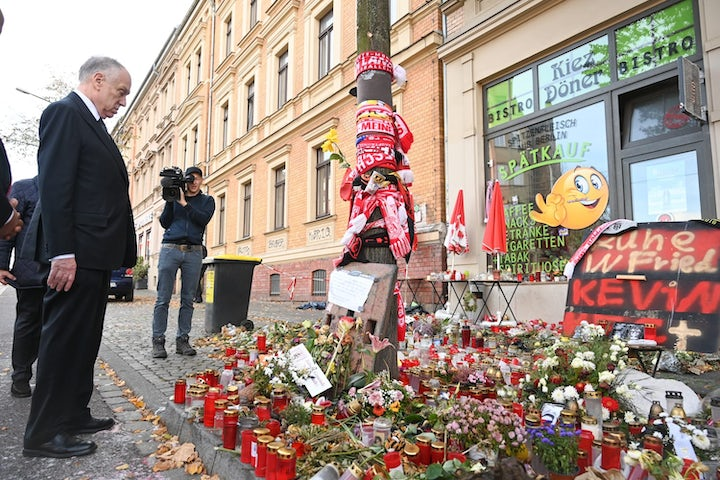 On visit to Halle, WJC President demands 'action, not words' | ZDF Heute Journal reports