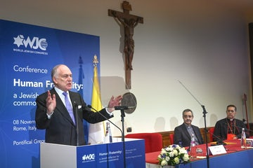 WJC President Ronald S. Lauder calls for unity in fight against hate in address to Vatican officials
