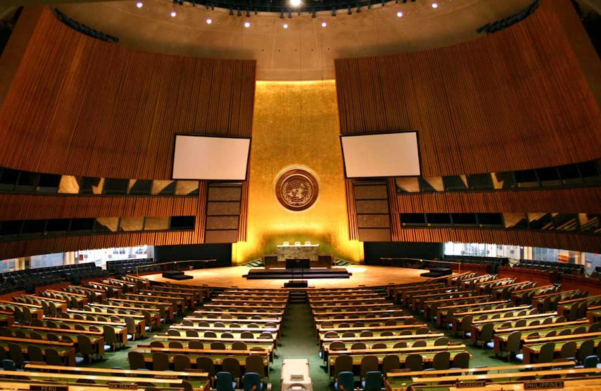 United Nations General Assembly votes on Israel agenda items