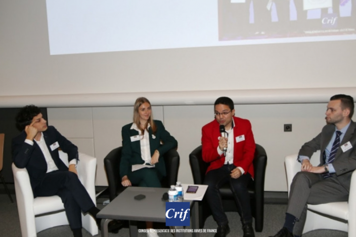 10th CRIF National Convention held in Paris