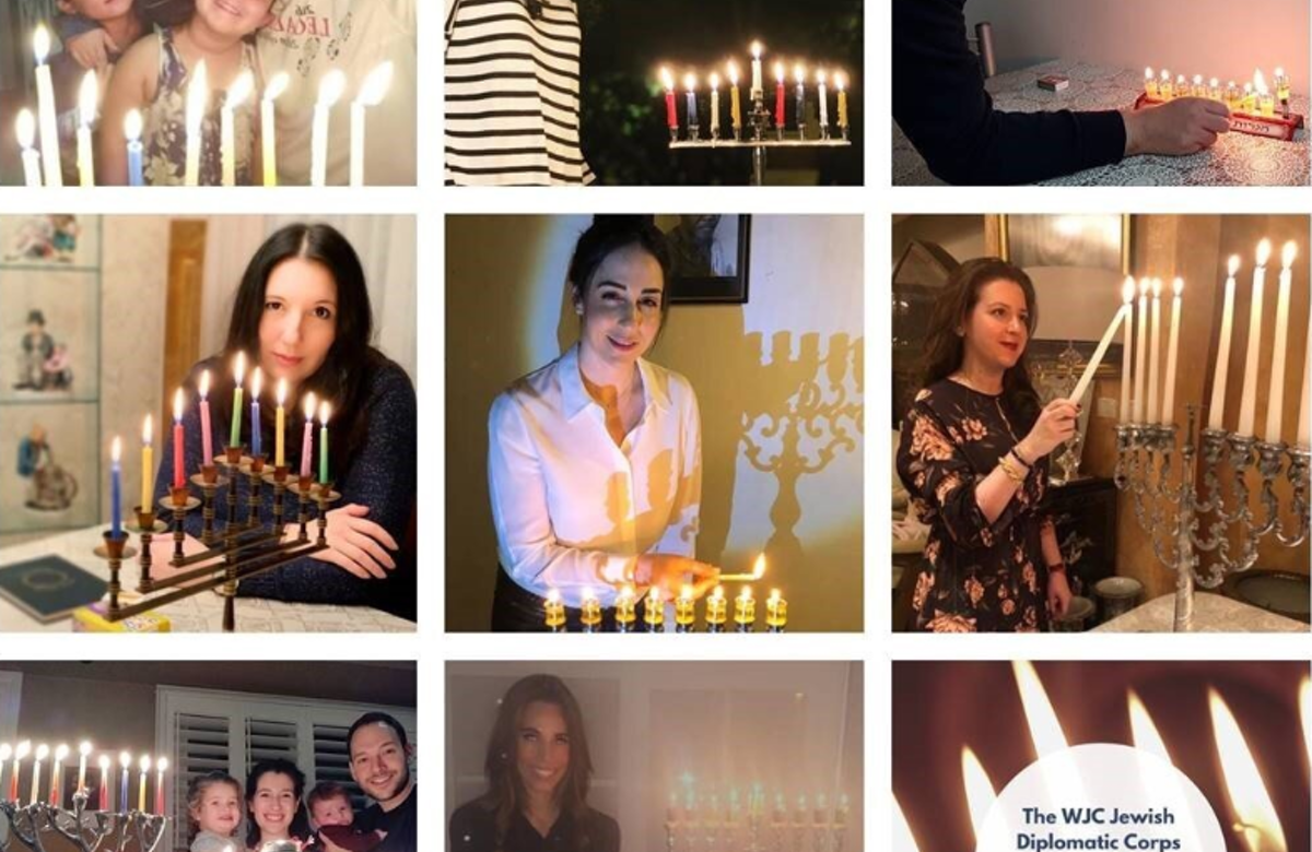 Amid surge of antisemitism over Hanukkah, WJC takes to social media to #SpreadLight
