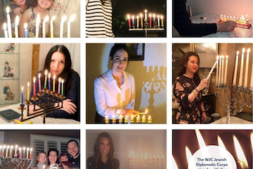 Amid surge of antisemitism over Hanukkah, WJC takes to social media to #SpreadLight