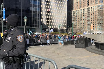 WJC joins thousands of Jewish community members in New York City to say #NoHateNoFear