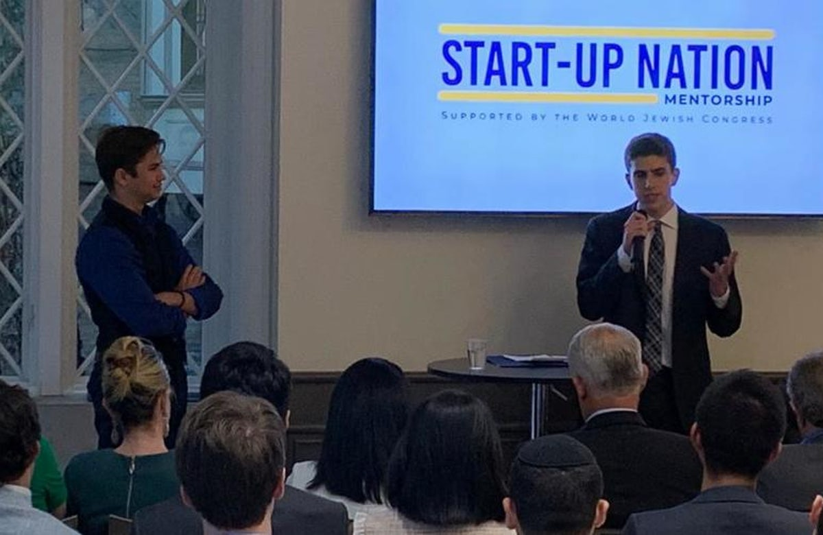 WATCH | Behind the rise of Start-Up Nation Mentorship, a project of the WJC